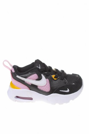 Παιδικά παπούτσια Nike, Μέγεθος 21, Χρώμα Μαύρο, Κλωστοϋφαντουργικά προϊόντα, φυσικό σουέτ, δερματίνη, Τιμή 35,72€