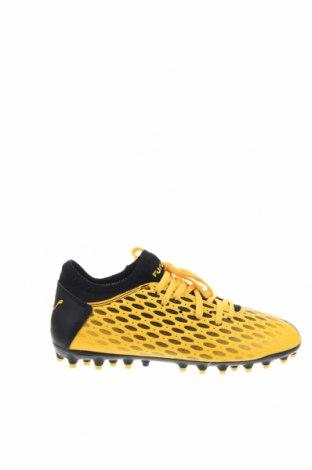 Παιδικά παπούτσια PUMA, Μέγεθος 35, Χρώμα Κίτρινο, Δερματίνη, Τιμή 38,27€