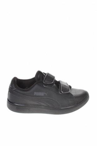 Παιδικά παπούτσια PUMA, Μέγεθος 28, Χρώμα Μαύρο, Γνήσιο δέρμα, δερματίνη, Τιμή 25,98€