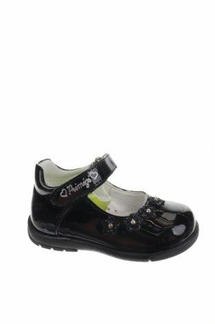Παιδικά παπούτσια Primigi, Μέγεθος 20, Χρώμα Μαύρο, Δερματίνη, Τιμή 22,81€
