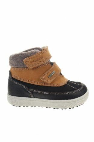 Παιδικά παπούτσια Primigi, Μέγεθος 22, Χρώμα Μαύρο, Γνήσιο δέρμα, Τιμή 17,79€
