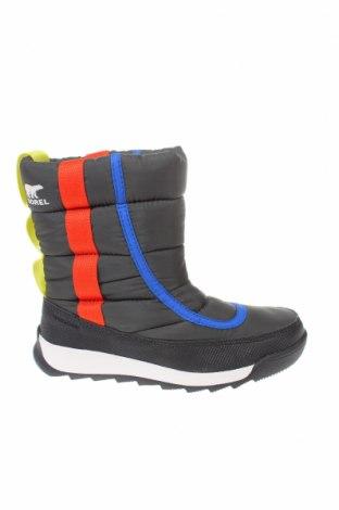 Παιδικά παπούτσια Sorel, Μέγεθος 32, Χρώμα Μαύρο, Κλωστοϋφαντουργικά προϊόντα, Τιμή 37,46€