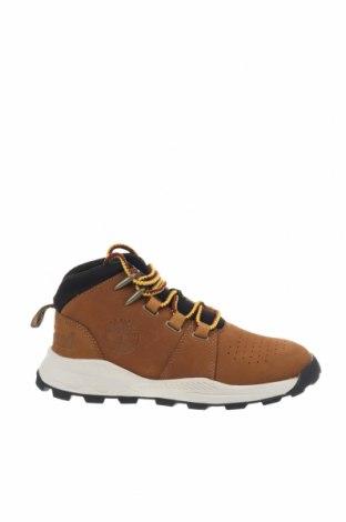 Παιδικά παπούτσια Timberland, Μέγεθος 33, Χρώμα Καφέ, Γνήσιο δέρμα, Τιμή 56,50€