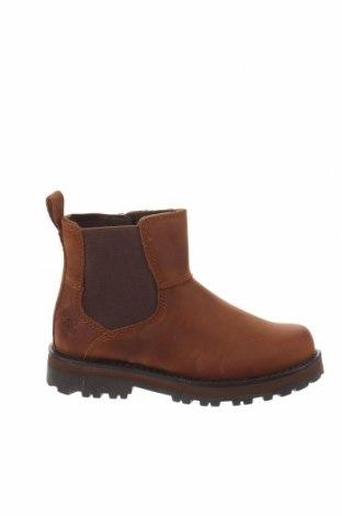 Παιδικά παπούτσια Timberland, Μέγεθος 28, Χρώμα Καφέ, Γνήσιο δέρμα, Τιμή 59,50€
