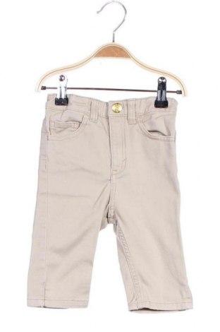 Детски панталон H&M Conscious Collection, Размер 18-24m/ 86-98 см, Цвят Бежов, 98% памук, 2% еластан, Цена 6,30лв.