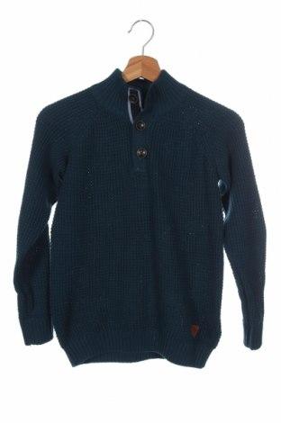 Παιδικό πουλόβερ Tom Tailor, Μέγεθος 8-9y/ 134-140 εκ., Χρώμα Πράσινο, 60% βαμβάκι, 40% πολυακρυλικό, Τιμή 12,99€