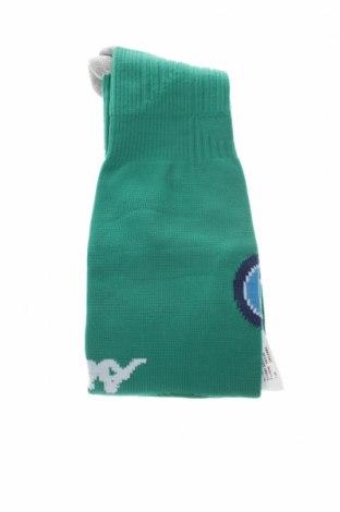 Παιδικές αθλητικές κάλτσες Kappa, Μέγεθος 10-11y/ 146-152 εκ., Χρώμα Πράσινο, 82% πολυαμίδη, 15% βαμβάκι, 3% ελαστάνη, Τιμή 6,28€