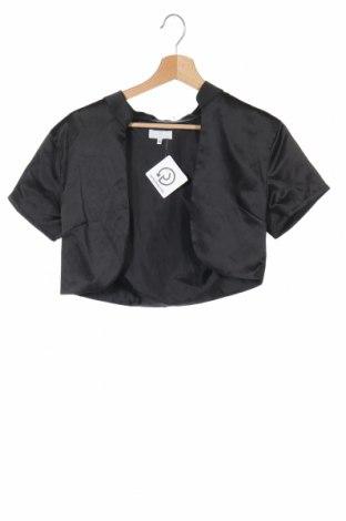 Παιδικό  μπολερό, Μέγεθος 15-18y/ 170-176 εκ., Χρώμα Μαύρο, Τιμή 4,09€