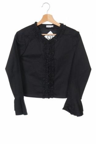 Детско сако Boule..., Размер 12-13y/ 158-164 см, Цвят Черен, 97% памук, 3% еластан, Цена 6,56лв.