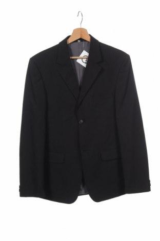 Dětské sako  Here+There, Velikost 14-15y/ 168-170 cm, Barva Černá, 90% polyester, 6% viskóza, 4% elastan, Cena  128,00Kč