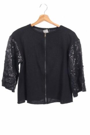 Παιδικό αθλητικό πάνω φόρμα Sisley, Μέγεθος 11-12y/ 152-158 εκ., Χρώμα Μαύρο, 65% βαμβάκι, 35% πολυεστέρας, Τιμή 7,60€