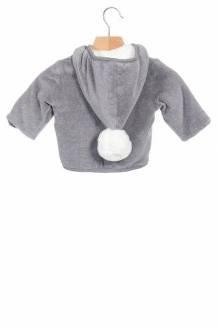 Παιδικό μπουφάν iDo By Miniconfi, Μέγεθος 2-3m/ 56-62 εκ., Χρώμα Γκρί, 75% βαμβάκι, 25% πολυεστέρας, Τιμή 26,68€