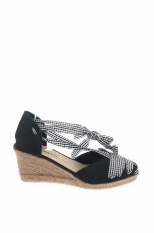 Εσπάδριλλες Nicewalk, Μέγεθος 40, Χρώμα Μαύρο, Κλωστοϋφαντουργικά προϊόντα, Τιμή 13,40€