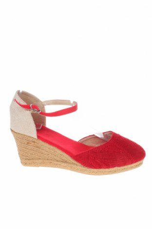 Εσπάδριλλες Nicewalk, Μέγεθος 39, Χρώμα Κόκκινο, Κλωστοϋφαντουργικά προϊόντα, Τιμή 14,20€