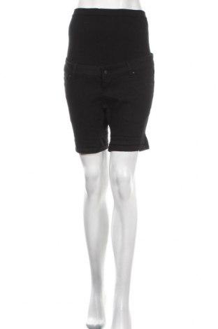 Γυναικείο κοντό παντελόνι εγκυμοσύνης Mamalicious, Μέγεθος M, Χρώμα Μαύρο, 79% βαμβάκι, 19% πολυεστέρας, 2% ελαστάνη, Τιμή 16,73€