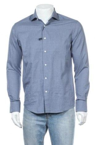 Ανδρικό πουκάμισο Barbuti, Μέγεθος M, Χρώμα Μπλέ, Βαμβάκι, Τιμή 8,89€