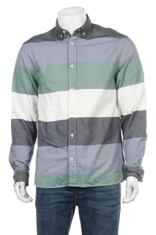 Мъжка риза H&M L.O.G.G., Размер M, Цвят Многоцветен, Памук, Цена 4,73лв.