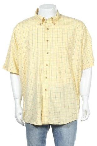 Мъжка риза L.L. Bean, Размер XXL, Цвят Жълт, Памук, Цена 6,62лв.