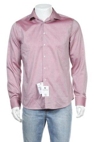 Мъжка риза Seidensticker, Размер M, Цвят Розов, Памук, Цена 9,10лв.