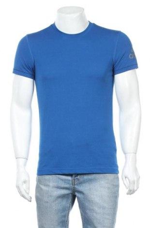 Ανδρικό t-shirt Adidas, Μέγεθος S, Χρώμα Μπλέ, Πολυεστέρας, Τιμή 15,77€