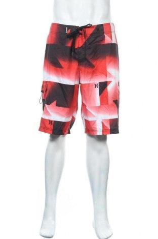 Мъжки къс панталон Hurley, Размер L, Цвят Многоцветен, Полиестер, Цена 7,35лв.