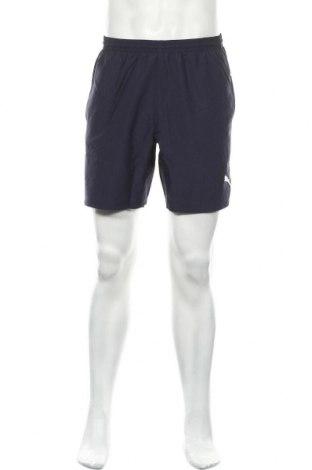 Ανδρικό κοντό παντελόνι PUMA, Μέγεθος M, Χρώμα Μπλέ, Πολυεστέρας, Τιμή 25,98€
