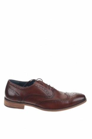 Мъжки обувки, Размер 44, Цвят Кафяв, Естествена кожа, Цена 45,22лв.