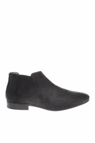 Ανδρικά παπούτσια Aldo, Μέγεθος 41, Χρώμα Μαύρο, Γνήσιο δέρμα, κλωστοϋφαντουργικά προϊόντα, Τιμή 73,61€