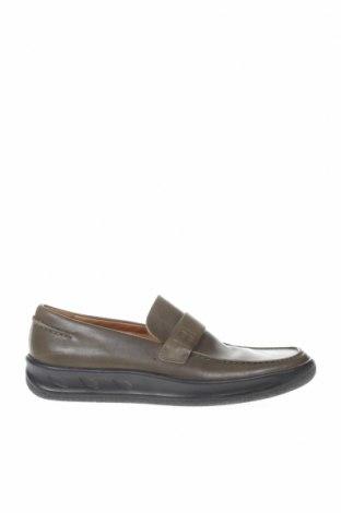 Мъжки обувки Bally, Размер 42, Цвят Зелен, Естествена кожа, Цена 89,04лв.