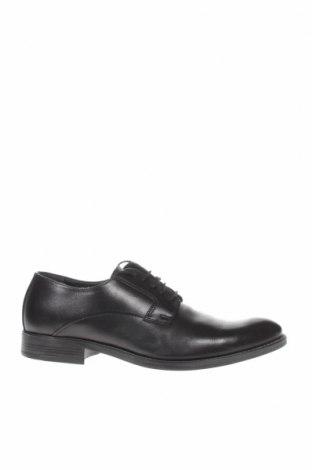 Ανδρικά παπούτσια Bata, Μέγεθος 42, Χρώμα Μαύρο, Γνήσιο δέρμα, Τιμή 21,56€
