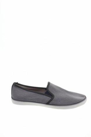 Мъжки обувки Burton of London, Размер 44, Цвят Сив, Текстил, Цена 29,37лв.