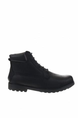 Ανδρικά παπούτσια Geox, Μέγεθος 44, Χρώμα Μαύρο, Γνήσιο δέρμα, Τιμή 86,17€
