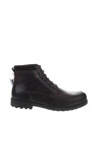 Ανδρικά παπούτσια Geox, Μέγεθος 46, Χρώμα Καφέ, Γνήσιο δέρμα, Τιμή 86,17€