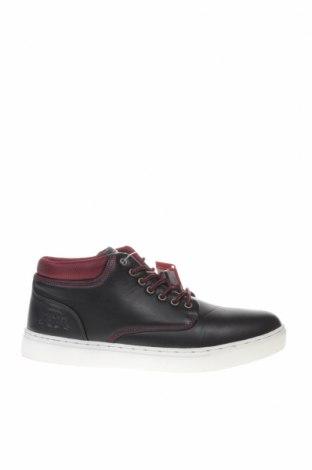 Ανδρικά παπούτσια Kappa, Μέγεθος 43, Χρώμα Μαύρο, Δερματίνη, Τιμή 28,70€
