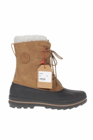 Ανδρικά παπούτσια Kimberfeel, Μέγεθος 45, Χρώμα Καφέ, Δερματίνη, πολυουρεθάνης, Τιμή 36,80€