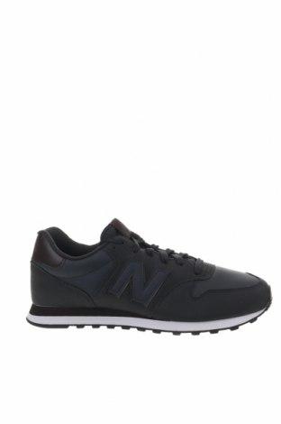 Ανδρικά παπούτσια New Balance, Μέγεθος 45, Χρώμα Μπλέ, Κλωστοϋφαντουργικά προϊόντα, δερματίνη, Τιμή 65,33€