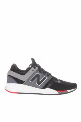 Ανδρικά παπούτσια New Balance, Μέγεθος 47, Χρώμα Μαύρο, Κλωστοϋφαντουργικά προϊόντα, Τιμή 69,20€
