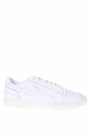 Ανδρικά παπούτσια PUMA, Μέγεθος 48, Χρώμα Λευκό, Γνήσιο δέρμα, Τιμή 65,33€