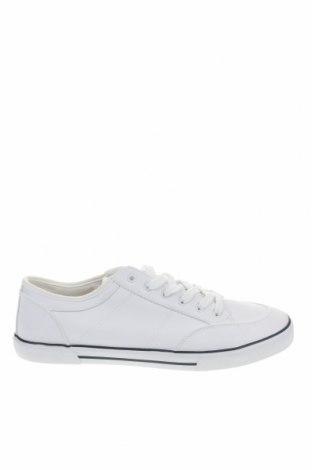 Ανδρικά παπούτσια Pier One, Μέγεθος 48, Χρώμα Λευκό, Δερματίνη, Τιμή 16,42€