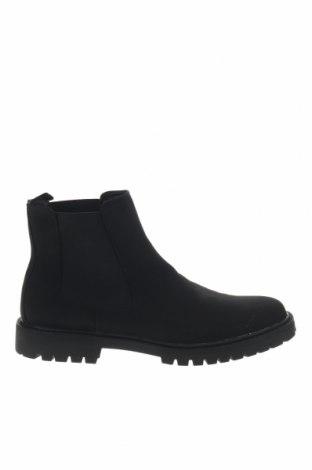 Ανδρικά παπούτσια Pier One, Μέγεθος 48, Χρώμα Μαύρο, Δερματίνη, Τιμή 32,12€