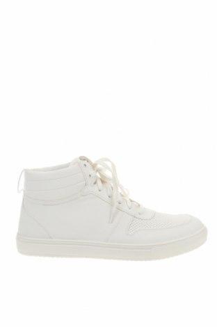 Ανδρικά παπούτσια Pier One, Μέγεθος 48, Χρώμα Λευκό, Δερματίνη, Τιμή 21,29€