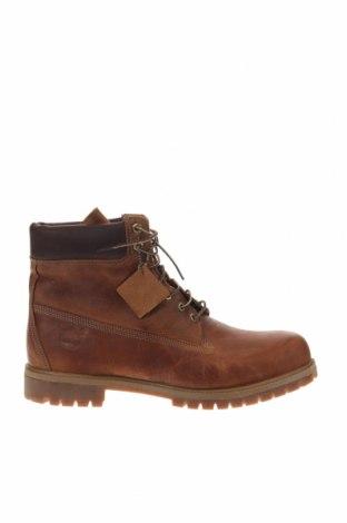 Ανδρικά παπούτσια Timberland, Μέγεθος 49, Χρώμα Καφέ, Γνήσιο δέρμα, Τιμή 89,39€