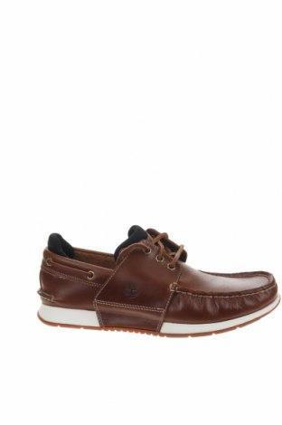 Ανδρικά παπούτσια Timberland, Μέγεθος 40, Χρώμα Καφέ, Γνήσιο δέρμα, Τιμή 56,21€