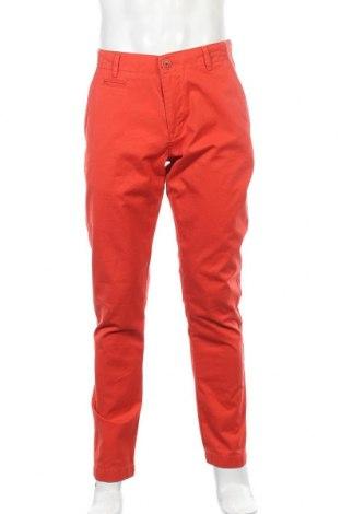 Ανδρικό παντελόνι Knowledge Cotton Apparel, Μέγεθος M, Χρώμα Πορτοκαλί, Βαμβάκι, Τιμή 22,08€