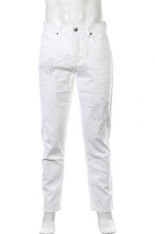 Мъжки панталон Rainbow, Размер M, Цвят Бял, 97% памук, 3% еластан, Цена 29,40лв.