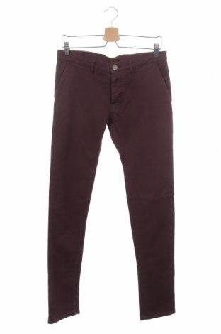 Pánské kalhoty  Trussardi Jeans, Velikost S, Barva Fialová, 98% bavlna, 2% elastan, Cena  560,00Kč