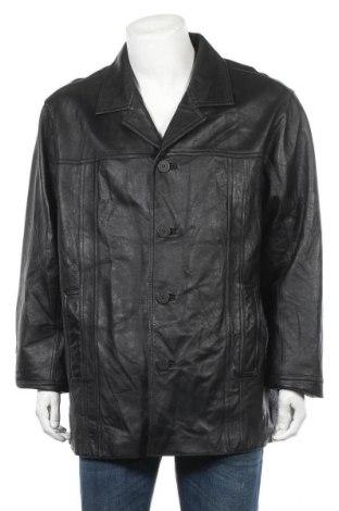 Ανδρικό δερμάτινο μπουφάν Wilsons Leather, Μέγεθος XL, Χρώμα Μαύρο, Γνήσιο δέρμα, Τιμή 34,62€