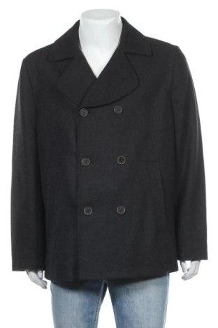 Ανδρικά παλτό Timberland, Μέγεθος XL, Χρώμα Γκρί, 60% πολυεστέρας, 34% μαλλί, 6% άλλα νήματα, Τιμή 88,05€