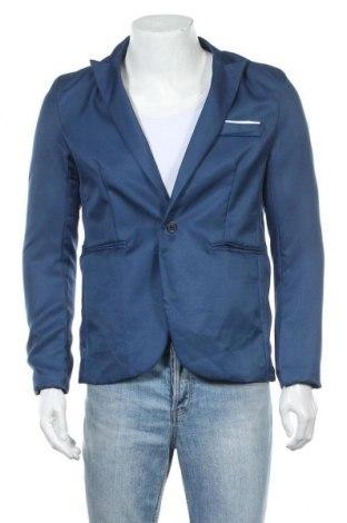 Мъжко сако, Размер M, Цвят Син, Цена 12,60лв.