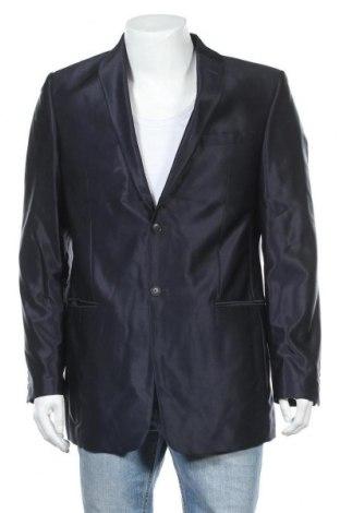 Мъжко сако Angelo Litrico, Размер M, Цвят Син, 83% полиестер, 17% вискоза, Цена 6,68лв.